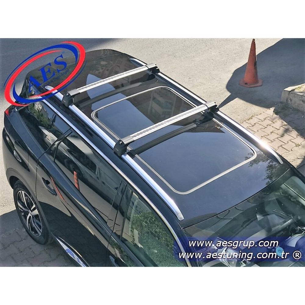 PEUGEOT 3008 PORT BAGAJ ARA BAR WİNG BAR EDGE CROSSBAR KİLİTLİ