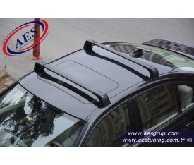 BMW 3 KASA PORT BAGAJ ARA BAR WİNG BAR EDGE BAR SİYAH KİLİTLİ