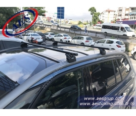 CİTROEN C4 GRAND PİCASSO THULE 753 RAPİD SYSTEM + 762 ÇELİK ARA BAR + KİT