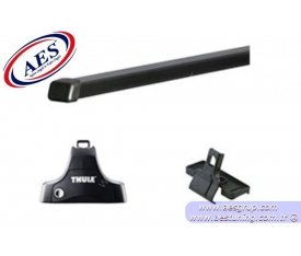 HONDA CİVİC THULE RAPİD SİSTEM 754 + ÇELİK BAR 761 + KİT KOMPLE SET ( 2012 - 2015 )