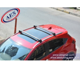 HONDA HRV PORT BAGAJ ARA BAR WİNG BAR EDGE CROSSBAR '' KİLİTLİ ''
