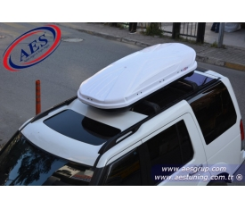 LAND ROVER DİSCOVERY 4 PORT BAGAJ LUXES XM BEYAZ 450 LİTRE