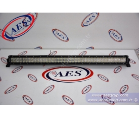 LED BAR AYDINLATMA KAVİSLİ ÇİFT SIRA DELİCİ VE YAYICI 240 WATT 1.000 MM BOY