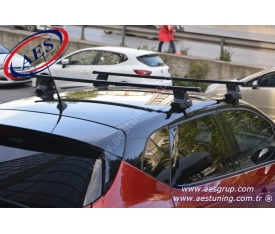 RENAULT CAPTUR THULE RAPİD SYSTEM 754 + KARE ÇELİK BAR + KİT
