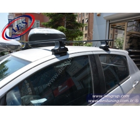 TOYOTA YARİS PORT BAGAJ THULE 754 RAPİD SYSTEM + 761 ÇELİK BAR + KİT 1427 ''