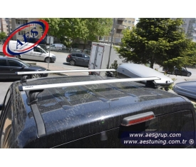 VOLKSWAGEN AMAROK PORT BAGAJ ARA BAR THULE 753 RAPİD SYSTEM + 969 WİNG BAR + KİT''