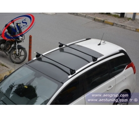 VOLVO XC 60 THULE RAPİD SİSTEM 753 + KİT 4006 SİYAH BAR 761 KOMPLE SET